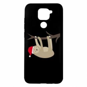 Xiaomi Redmi Note 9 / Redmi 10X case % print% Happy sloth on branch