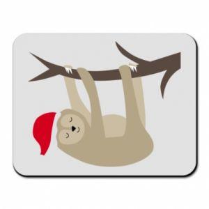 Podkładka pod mysz Szczęśliwy leniwiec na gałęzi