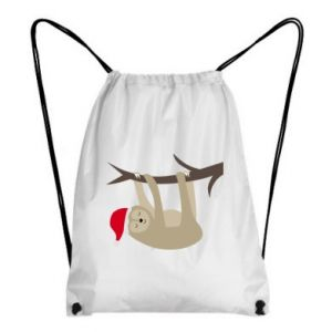Plecak-worek Szczęśliwy leniwiec na gałęzi