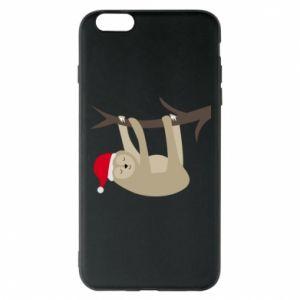 Etui na iPhone 6 Plus/6S Plus Szczęśliwy leniwiec na gałęzi