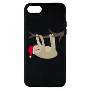Etui na iPhone 7 Szczęśliwy leniwiec na gałęzi