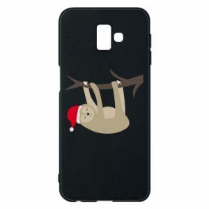 Etui na Samsung J6 Plus 2018 Szczęśliwy leniwiec na gałęzi