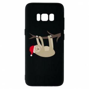 Etui na Samsung S8 Szczęśliwy leniwiec na gałęzi