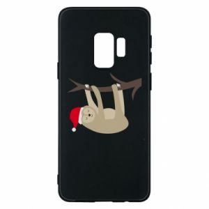 Etui na Samsung S9 Szczęśliwy leniwiec na gałęzi