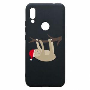 Etui na Xiaomi Redmi 7 Szczęśliwy leniwiec na gałęzi