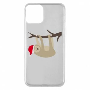 Etui na iPhone 11 Szczęśliwy leniwiec na gałęzi