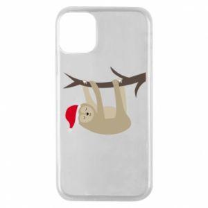 Etui na iPhone 11 Pro Szczęśliwy leniwiec na gałęzi