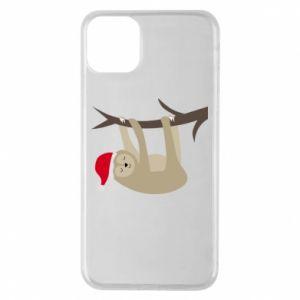 Etui na iPhone 11 Pro Max Szczęśliwy leniwiec na gałęzi