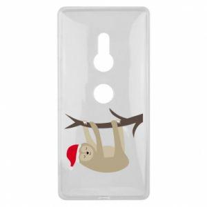 Etui na Sony Xperia XZ2 Szczęśliwy leniwiec na gałęzi