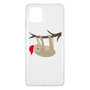 Etui na Samsung Note 10 Lite Szczęśliwy leniwiec na gałęzi