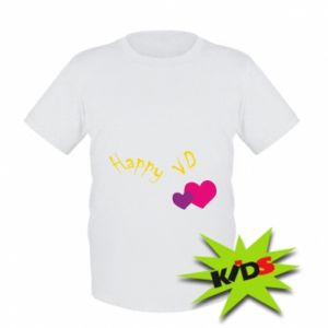 Kids T-shirt Happy Valentine's day