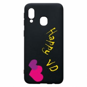 Samsung A40 Case Happy Valentine's day
