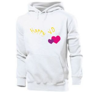 Men's hoodie Happy Valentine's day