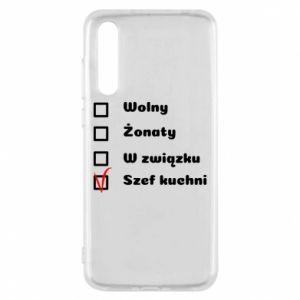 Etui na Huawei P20 Pro Szef kuchni, dla niego