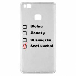 Etui na Huawei P9 Lite Szef kuchni, dla niego
