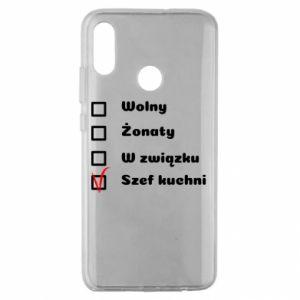 Etui na Huawei Honor 10 Lite Szef kuchni, dla niego