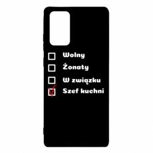 Etui na Samsung Note 20 Szef kuchni, dla niego