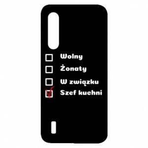 Etui na Xiaomi Mi9 Lite Szef kuchni, dla niego