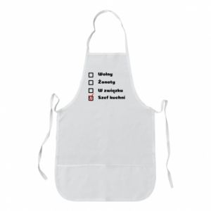 Apron The chef, for him - PrintSalon