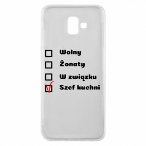 Phone case for Samsung J6 Plus 2018 The chef, for him - PrintSalon