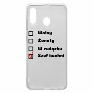 Phone case for Samsung A30 The chef, for him - PrintSalon