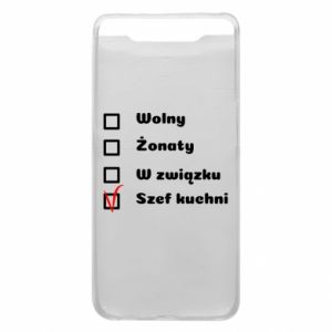Phone case for Samsung A80 The chef, for him - PrintSalon