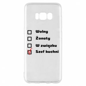 Phone case for Samsung S8 The chef, for him - PrintSalon