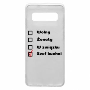 Phone case for Samsung S10 The chef, for him - PrintSalon