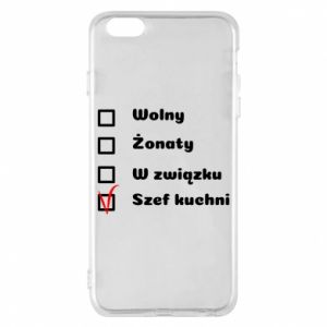 Phone case for iPhone 6 Plus/6S Plus The chef, for him - PrintSalon