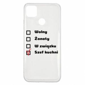 Etui na Xiaomi Redmi 9c Szef kuchni, dla niego