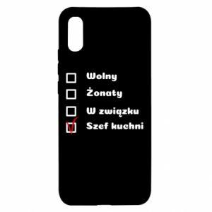 Etui na Xiaomi Redmi 9a Szef kuchni, dla niego