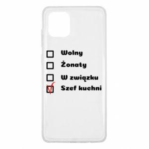 Etui na Samsung Note 10 Lite Szef kuchni, dla niego