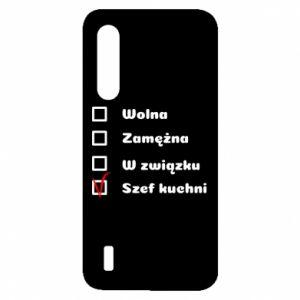 Etui na Xiaomi Mi9 Lite Szef kuchni, dla niej