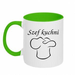 Two-toned mug Chef