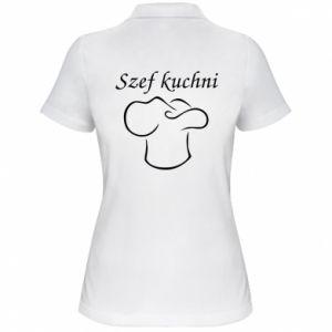 Damska koszulka polo Szef kuchni