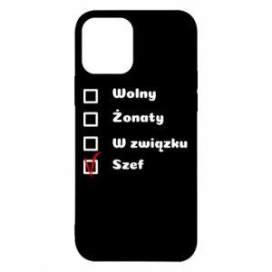 Etui na iPhone 12/12 Pro Szef, mężczyzna