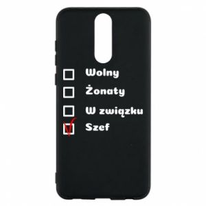 Phone case for Huawei Mate 10 Lite Boss, мan - PrintSalon