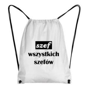 Plecak-worek Szef wszystkich szefów!