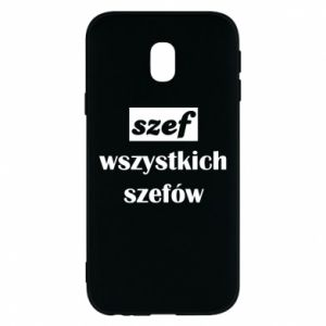 Phone case for Samsung J3 2017 The boss of all bosses