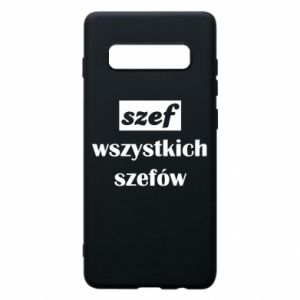 Phone case for Samsung S10+ The boss of all bosses