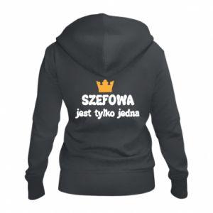Damska bluza na zamek Szefowa jest tylko jedna