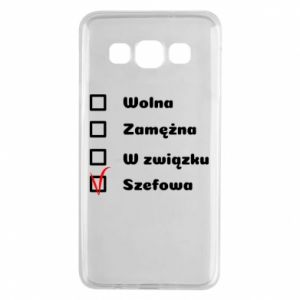 Etui na Samsung A3 2015 Szefowa