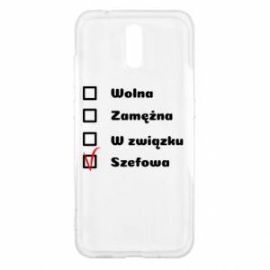 Etui na Nokia 2.3 Szefowa