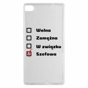Etui na Huawei P8 Szefowa