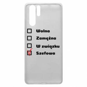Etui na Huawei P30 Pro Szefowa