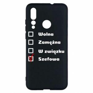 Etui na Huawei Nova 4 Szefowa
