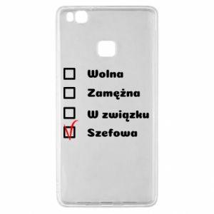 Etui na Huawei P9 Lite Szefowa