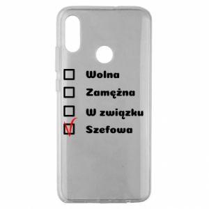 Etui na Huawei Honor 10 Lite Szefowa
