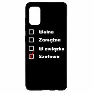 Etui na Samsung A41 Szefowa