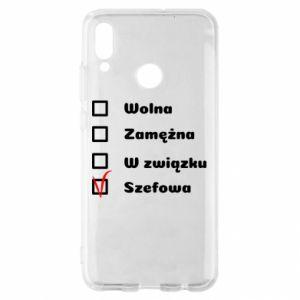 Etui na Huawei P Smart 2019 Szefowa